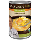 Wolfgang Puck Corn Chowder Organic Soup 14.5 Oz  (Pack of 12)