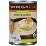Wolfgang Puck Organic Soup Chicken & Dumplings 14.5 oz  (Pack of 12)