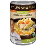 Wolfgang Puck Chicken W/Egg Noodles Organic Soup 14.5 Oz  (Pack of 12)