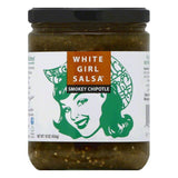 White Girl Salsa Smokey Chipotle Salsa, 16 Oz (Pack of 6)