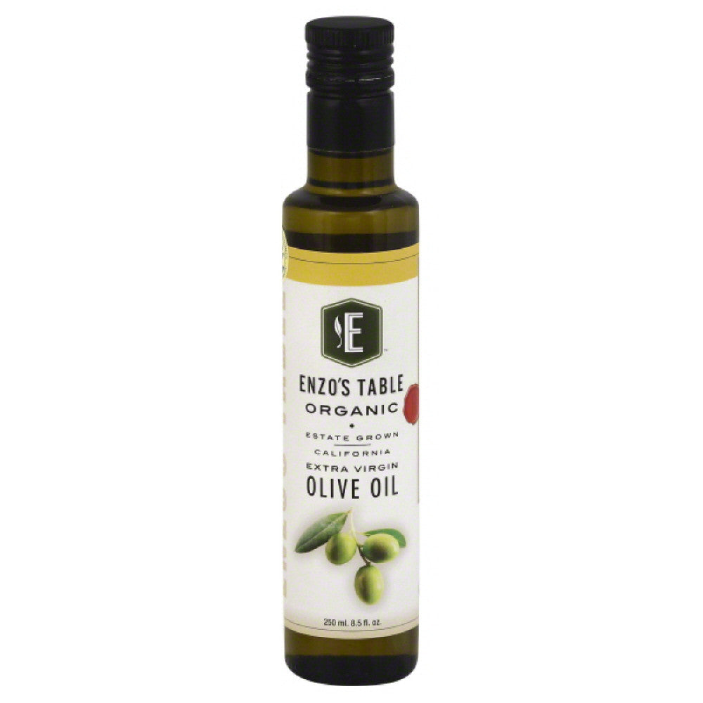 Enzos Table Extra Virgin Organic Olive Oil, 250 Ml  ( Pack of  6)