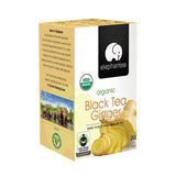 Elephantea Organic Black Tea Ginger, 1.41 oz (Pack of 6)