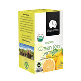 Elephantea Organic Green Lemon Tea 1.41 oz (Pack of 6)