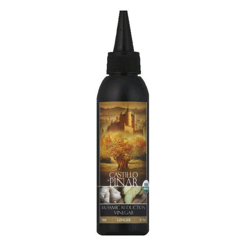 Castillo De Pinar Ginger Balsamic Reduction Vinegar, 150 ML (Pack of 6)