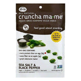 Cruncha MaMe Sea Salt & Black Pepper Freeze-Dried Edamame Veggie Snack, 0.7 OZ (Pack of 8)