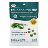 Cruncha MaMe Onion & Chive Freeze-Dried Edamame Veggie Snack, 0.7 OZ (Pack of 8)