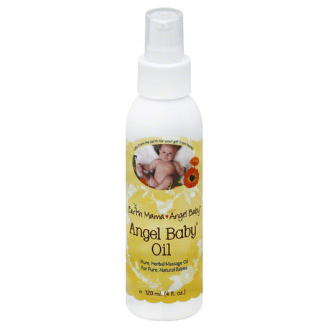 Earth Mama Angel Baby Angel Baby Oil, 4 Oz