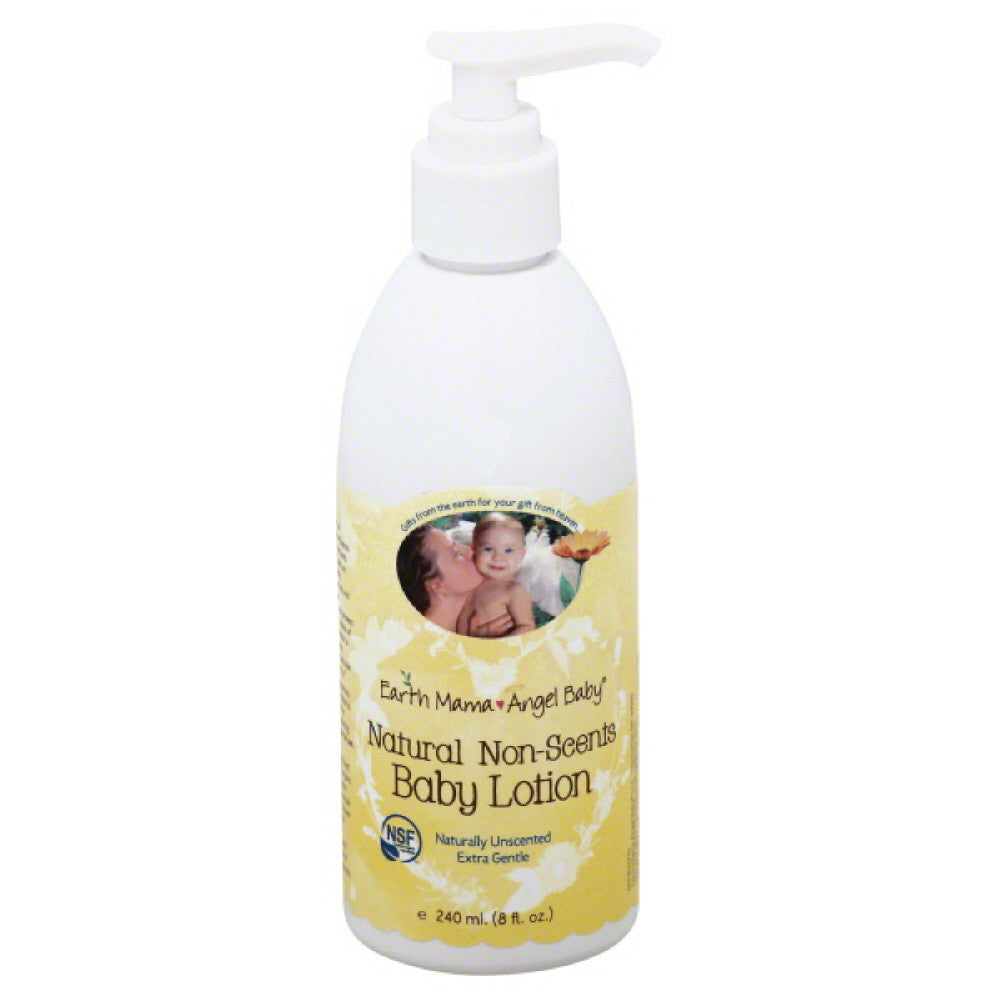 Earth Mama Angel Baby Non-Scents Natural Baby Lotion, 8 Oz