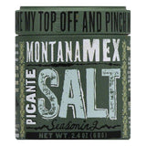 Montana Mex Picante Salt, 2.4 OZ (Pack of 6)