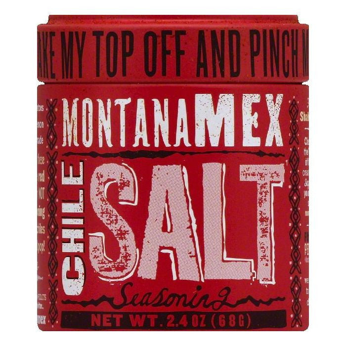 Montana Mex Chile Salt, 2.4 OZ (Pack of 6)
