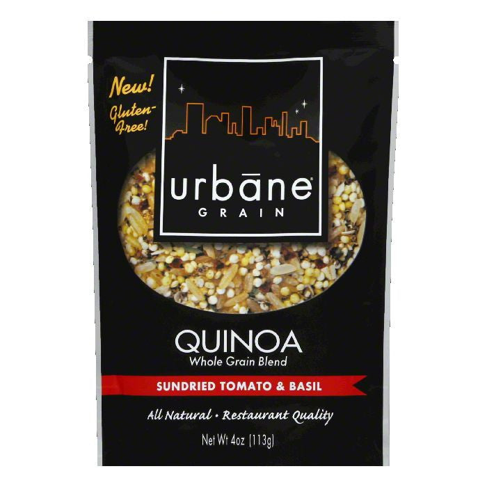 Urbane Grain Sundried Tomato Basil Quinoa Blend, 4 OZ (Pack of 6)