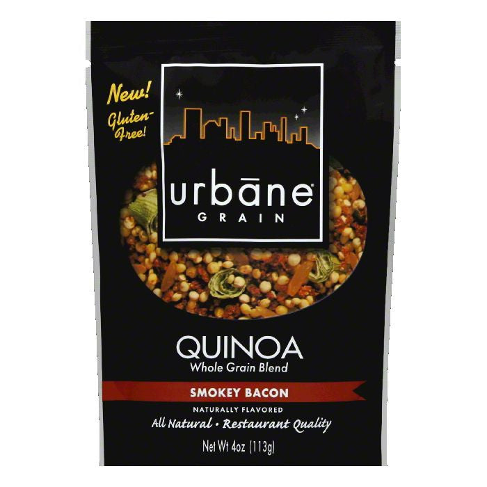 Urbane Grain Smoky Bacon Quinoa Blend, 4 OZ (Pack of 6)
