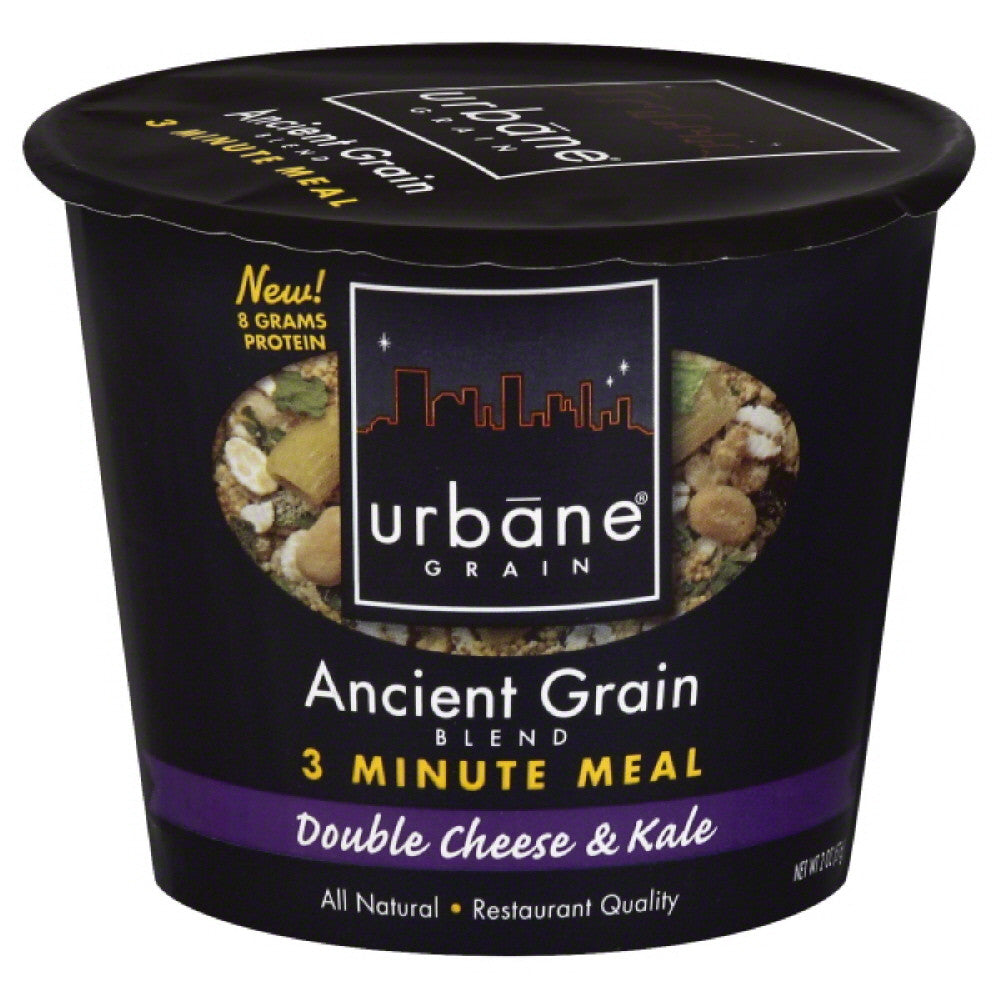 Urbane Grain Double Cheese & Kale Ancient Grain Blend, 2 Oz (Pack of 6)