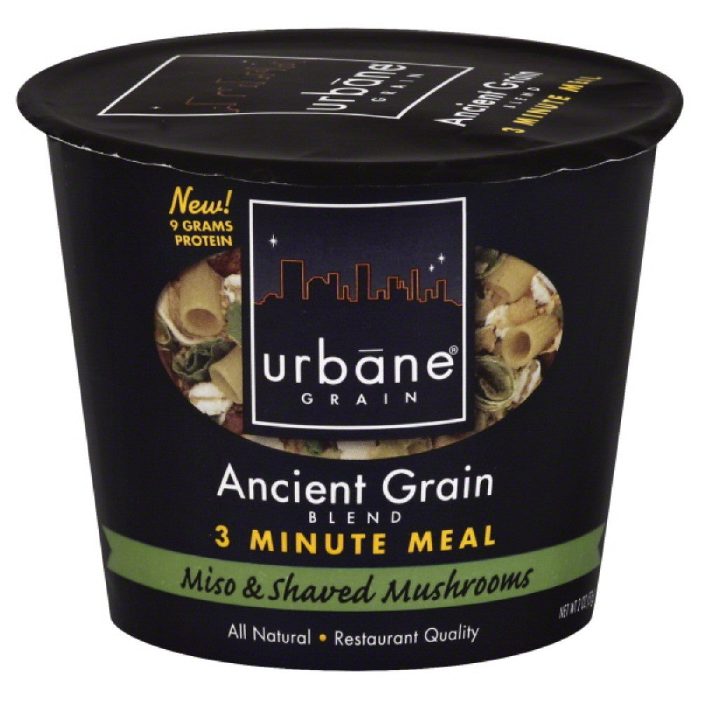 Urbane Grain Miso & Shaved Mushrooms Ancient Grain Blend, 2 Oz (Pack of 6)