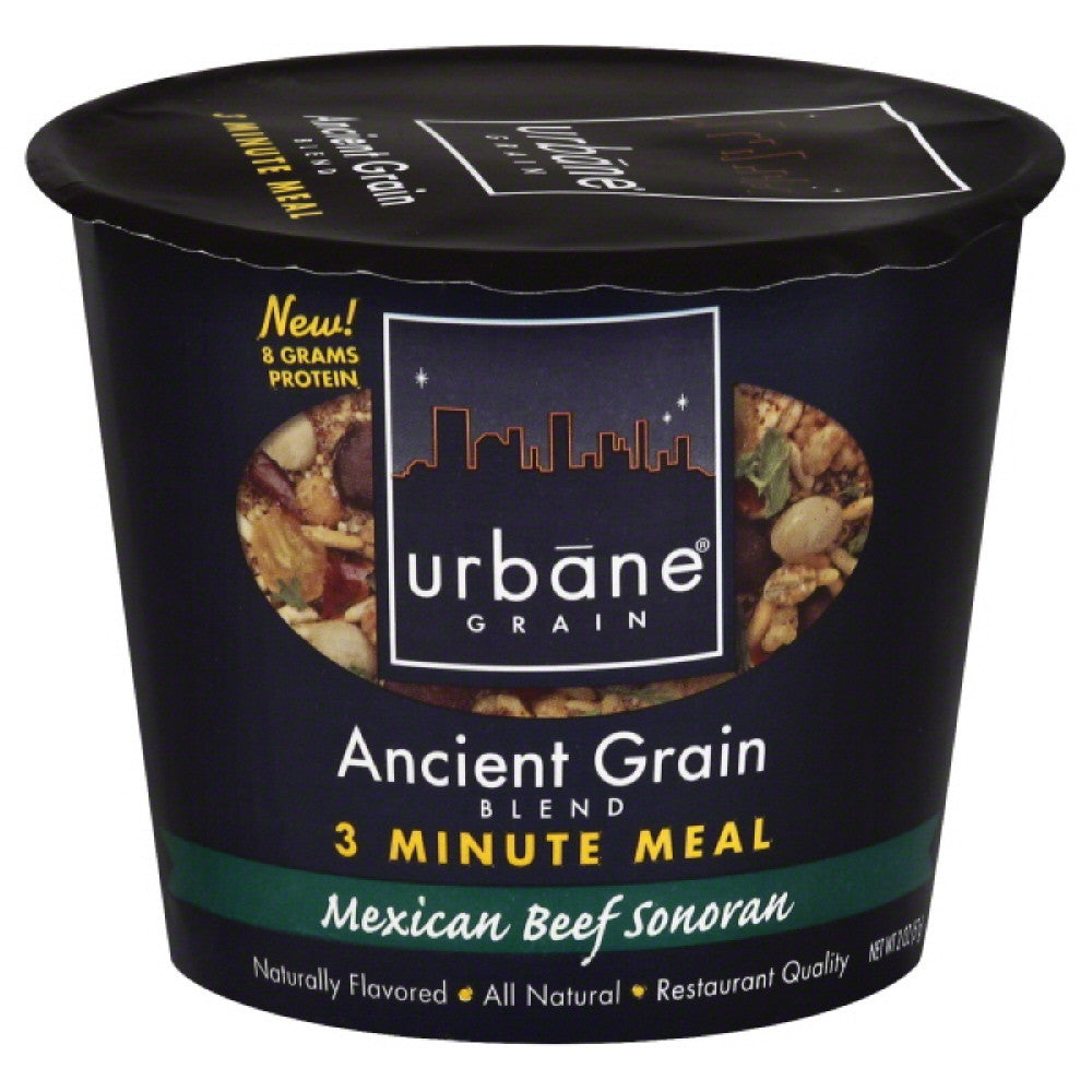 Urbane Grain Mexican Beef Sonoran Ancient Grain Blend, 2 Oz (Pack of 6)