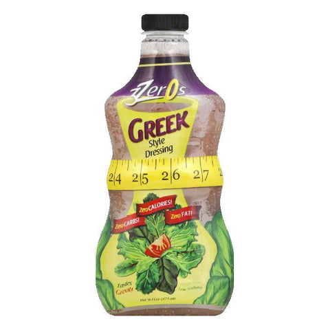 3Zeros Mediterranean Vinaigrette Dressing, 16 FO (Pack of 6)