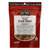 Go Raw 100% Organic Pizza Flax Snax, 3 OZ (Pack of 12)