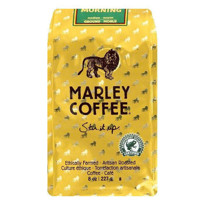 Marley Coffee Mystic Morning Medium Ground Coffee, 8 OZ (Pack of 8)
