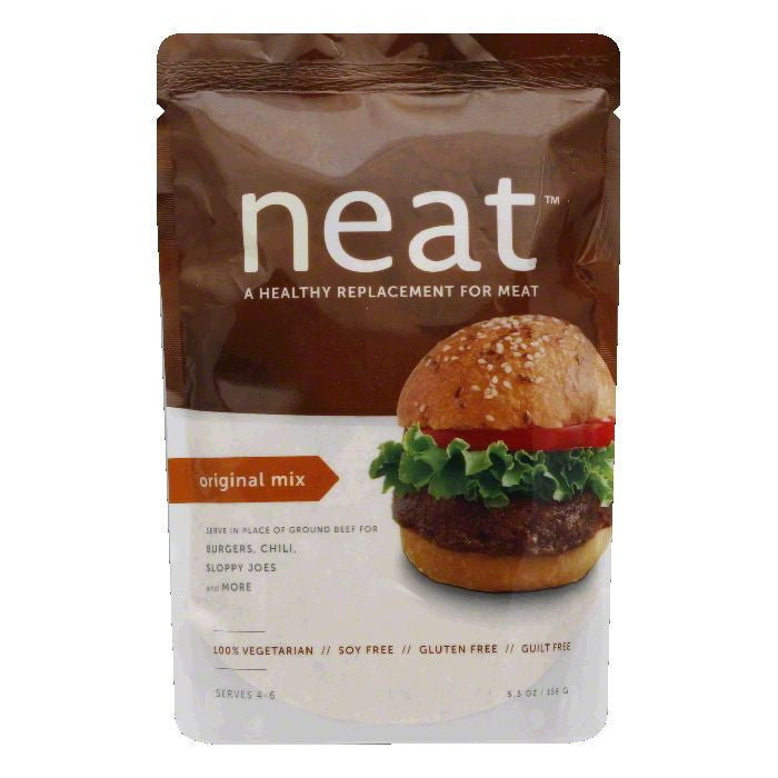 Neat Original Mix Healthy Replacement for Meat, 5.5 Oz (Pack of 6)