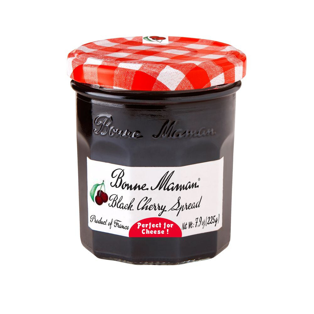 Bonne Maman Black Cherry Spread, 7.9 Oz (Pack of 6)