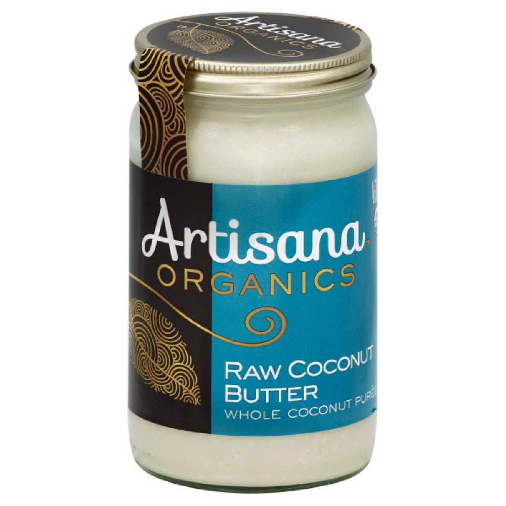 Artisana Raw Coconut Butter, 14 Oz (Pack of 6)