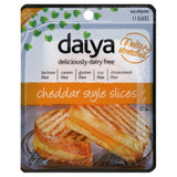 Daiya Deliciously Dairy Free Cheddar Style Slices, 7.8 Oz (Pack of 8)