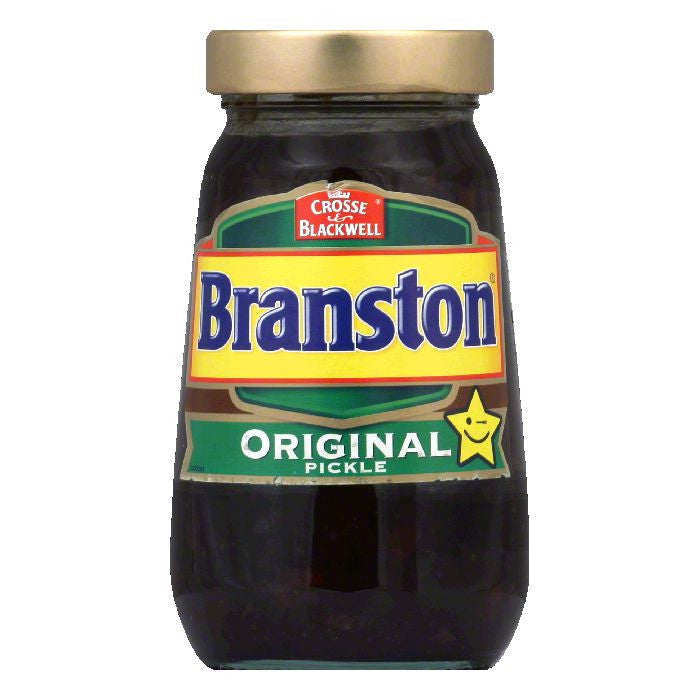 Crosse & Blackwell Branston 520 GM Pickle Relish, 18.342 OZ (Pack of 6)