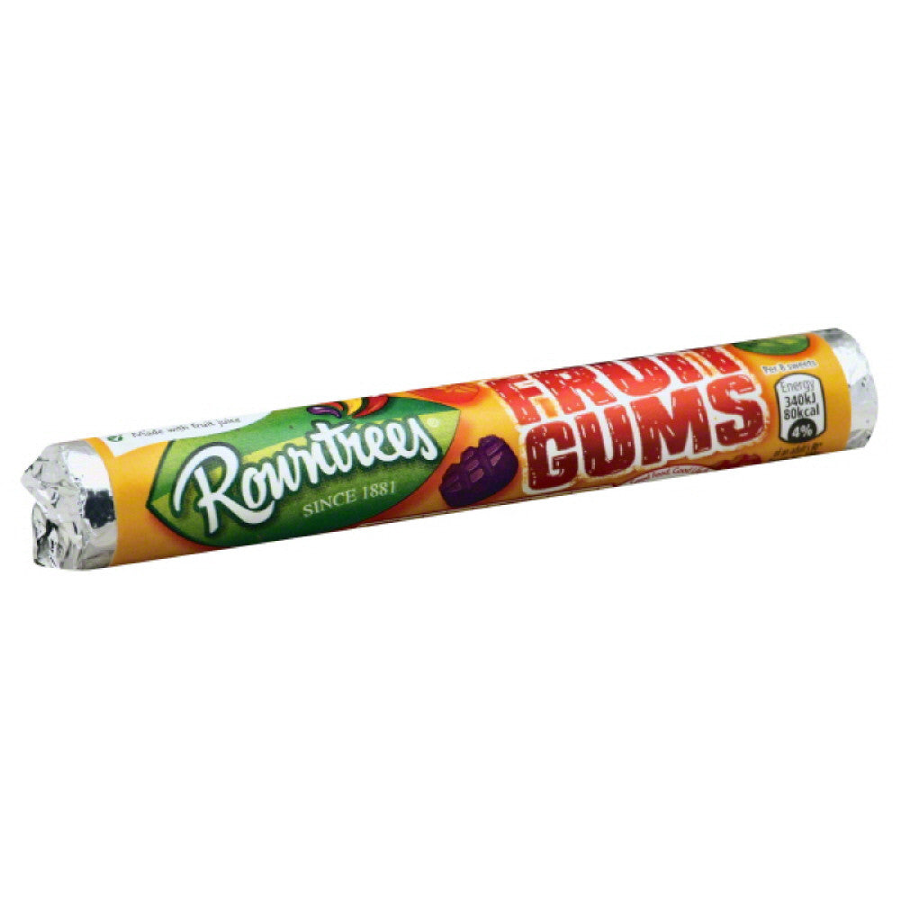 Rowntrees Fruit Gums, 1.7 Oz (Pack of 36)