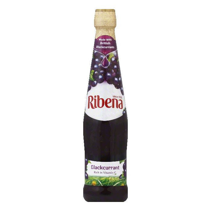 Ribena Soda Black Current, 20.3 FO (Pack of 12)