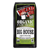 Wicked Joe Big House Light & Dark Mix Whole Bean Coffee, 12 OZ (Pack of 6)