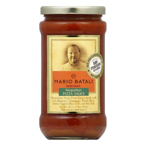 Mario Batali Pissa Sauce, 16 OZ (Pack of 6)