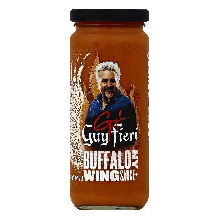 Guy Fieri Buffalo NY Wing Sauce, 12 OZ (Pack of 6)