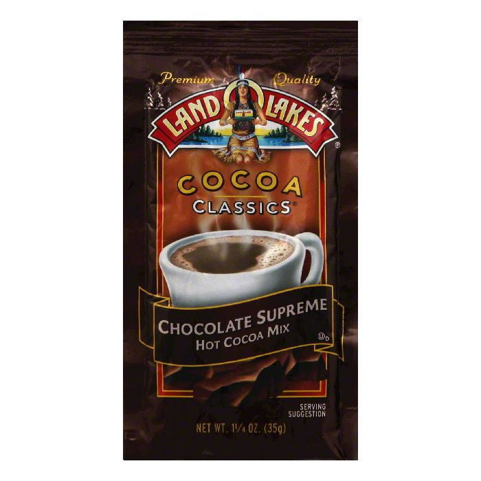 Land O Lakes Cocoa Classics Chocolate Supreme, 1.25 OZ (Pack of 12)
