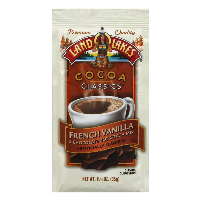 Land O Lakes Cocoa Classics Chocolate & French Vanilla, 1.25 OZ (Pack of 12)