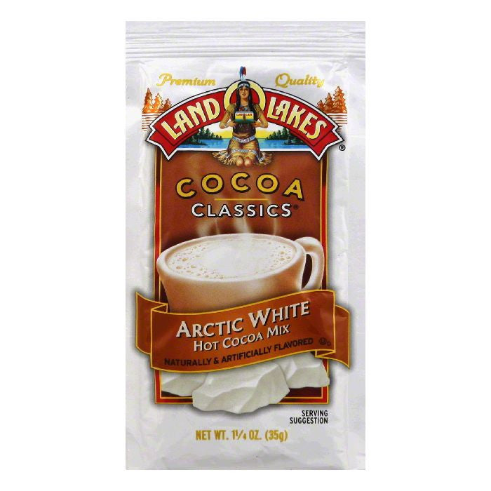 Land O Lakes Cocoa Classic Arctic White, 1.25 OZ (Pack of 12)