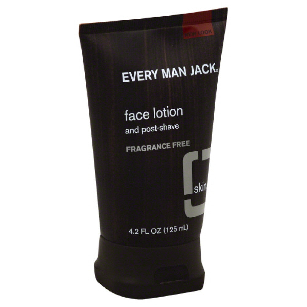 Every Man Jack Fragrance Free and Post-Shave Face Lotion, 4.2 Oz