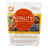 Dogswell Vitality Chicken Oats Treat, 4 LB (Pack of 6)