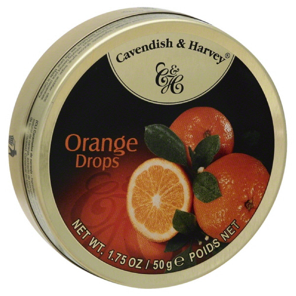 Cavendish & Harvey Orange Drops, 1.75 Oz (Pack of 7)