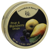 Cavendish & Harvey Pear & Blackberry Drops, 1.75 Oz (Pack of 7)