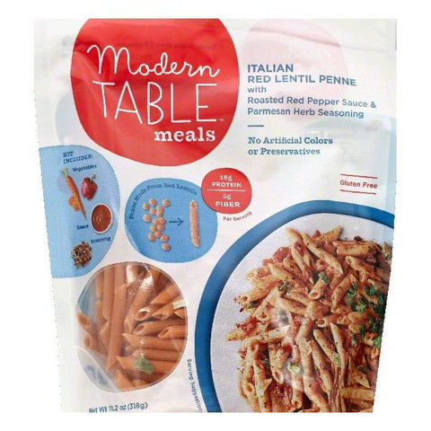 Modern Table Italian Red Lentil Penne, 11.2 OZ  ( Pack of  6)