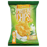 Quest Sour Cream & Onion Flavor Protein Chips, 1.125 Oz (Pack of 8)