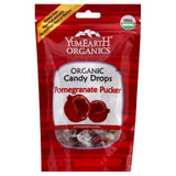 YumEarth Organic Pomegranate Pucker Candy Drops, 3.3 Oz (Pack of 6)