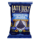 Late July Summertime Blues Chips, 5.5 OZ (Pack of 12)