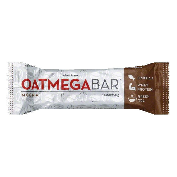Oatmega Bar Mocha Protein Bar, 50 GM (Pack of 12)