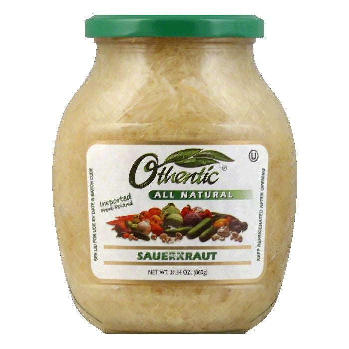 Othentic Sauerkraut, 30.34 OZ (Pack of 6)
