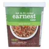 Earnest Eats Asia Blend Hot & Fit Cereal, 2.35 OZ (Pack of 12)