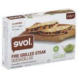 Evol Fire Grilled Steak Quesadillas, 9 Oz (Pack of 8)