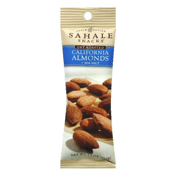 Sahale Snacks California Almonds and Sea Salt, 1.5 OZ (Pack of 9)