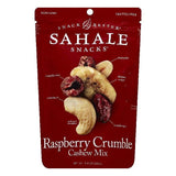 Sahale Raspberry Crumble Cashew Mix, 8 OZ (Pack of 4)