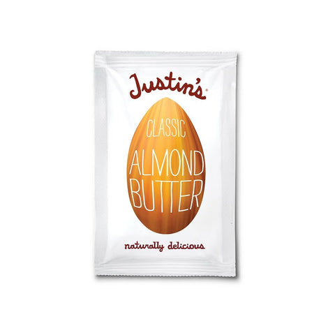 Justin's Natural Classic Almond Butter, 1.15 OZ (Pack of 10)